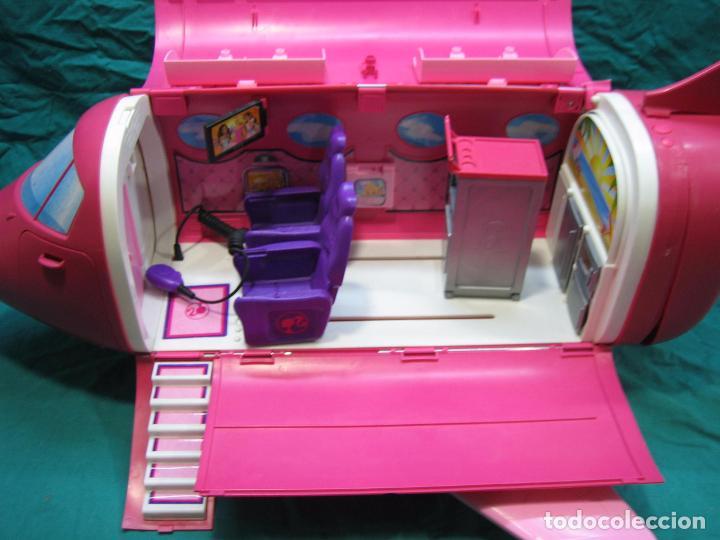 Barbie y Ken: Avión para Barbie de Mattel 2009 Mexico - Foto 4 - 67390717