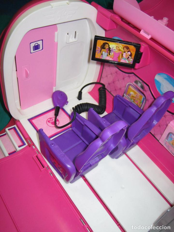 Barbie y Ken: Avión para Barbie de Mattel 2009 Mexico - Foto 6 - 67390717