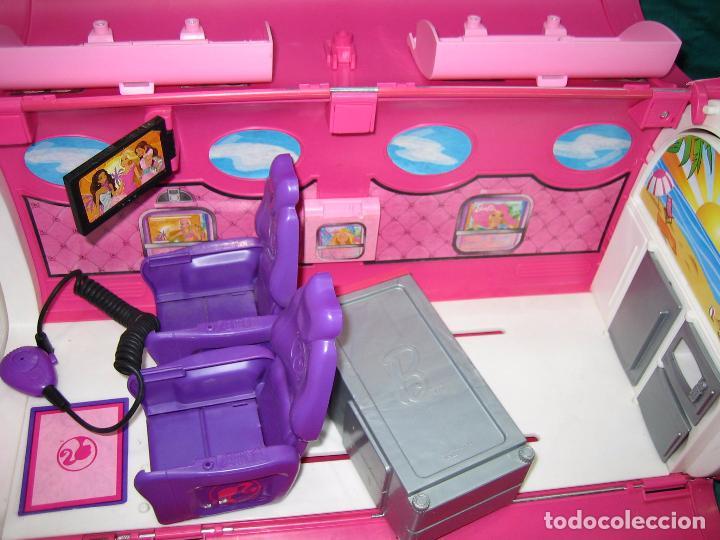 Barbie y Ken: Avión para Barbie de Mattel 2009 Mexico - Foto 8 - 67390717