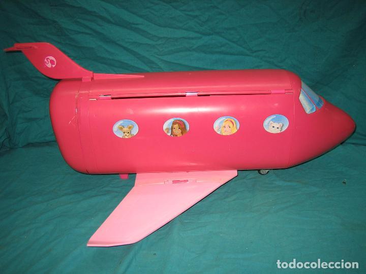 Barbie y Ken: Avión para Barbie de Mattel 2009 Mexico - Foto 11 - 67390717