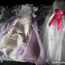 Barbie y Ken: 2 VESTIDOS ORIGINALES DE BARBIE. Lote 68518665