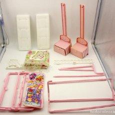 Barbie y Ken: BARBIE 2 EN 1 - COLUMPIO Y BARBACOA - MATTEL - 1993 - CASI COMPLETO. Lote 70378709
