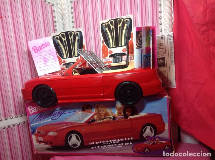 BARBIE MUSTANG (DESCAPOTABLE MÁGICO) MATTEL 1994 (EN CAJA NUEVO A ESTRENAR!!!!! (Juguetes - Muñeca Extranjera Moderna - Barbie y Ken - Vestidos y Accesorios)
