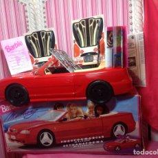Barbie y Ken: BARBIE MUSTANG (DESCAPOTABLE MÁGICO) MATTEL 1994 (EN CAJA NUEVO A ESTRENAR!!!!!. Lote 75874877