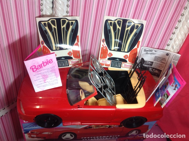 Barbie y Ken: BARBIE MUSTANG (Descapotable mágico) MATTEL 1994 (EN CAJA NUEVO A ESTRENAR!!!!! - Foto 2 - 75874877