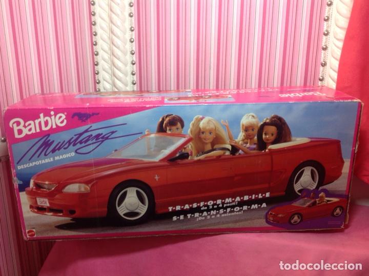 Barbie y Ken: BARBIE MUSTANG (Descapotable mágico) MATTEL 1994 (EN CAJA NUEVO A ESTRENAR!!!!! - Foto 3 - 75874877