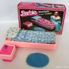 Barbie y Ken: BARBIE MOBILIARIO.CAMA. CONGOST. AÑOS 70 (1979). EN SU CAJA ORIGINAL.. Lote 77089537