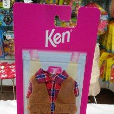 Barbie y Ken: CONJUNTO MODA JOVEN CHALECO KEN.AÑO 1997.NUEVO.. Lote 98587947