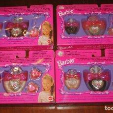 Barbie y Ken: BARBIE, JOYAS Y LACA DE UÑAS, LOTE DE 4 UNIDADES, NUEVAS, SIN ABRIR. Lote 194513863