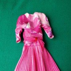 Barbie y Ken: BARBIE CONGOST VESTIDO ROSA FUCSIA ORIGINAL. Lote 83932592