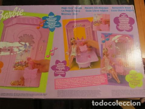Barbie y Ken: CASA MAGICA DE BARBIE ANTIGUO - Foto 2 - 85399672