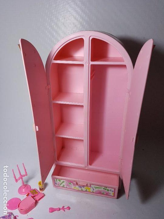 muñeca barbie - muebles armario sala television - Comprar Barbie y ...