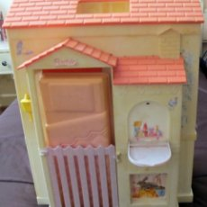 Barbie y Ken: ANTIGUA CASA PLEGABLE DE BARBIE O MUÑECA SIMILAR -DOLL, POUPEE. Lote 89428848