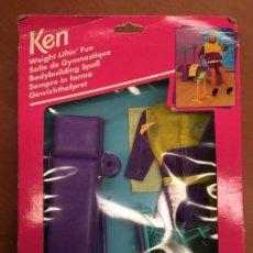 Barbie y Ken: ACCESORIOS KEN GYM SIN ABRIR. Lote 92067250