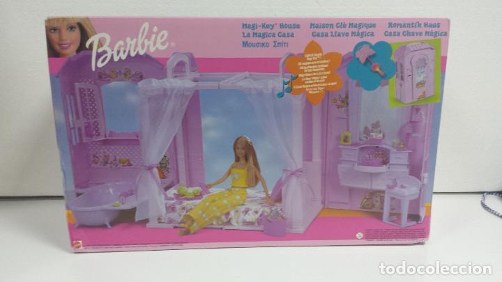 BARBIE CASA LLAVE MAGICA MATTEL 2000-A ESTRENAR (Juguetes - Muñeca Extranjera Moderna - Barbie y Ken - Vestidos y Accesorios)