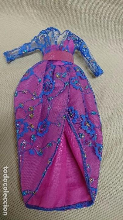 CONGOST - VESTIDO TRAJE MUÑECA BARBIE CONGOST (Juguetes - Muñeca Extranjera Moderna - Barbie y Ken - Vestidos y Accesorios)