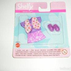 Barbie y Ken: CONJUNTO SHELLY BARBIE EN BLISTER MATTEL - ARTICULO NUEVO. Lote 95759491