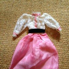 Barbie y Ken: BARBIE MADE IN SPAIN: VESTIDO CARA DE ÁNGEL. Lote 95831170