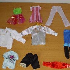 Barbie y Ken: LOTE ROPA BARBIE Y KEN 9 PRENDAS ROPA PARA MUÑECA BARBIE Y MUÑECO KEN. Lote 98584163