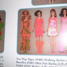 Barbie y Ken: VESTIDO FRINGE BENEFITS ORIGINAL DE BARBIE DEL AÑO 70. Lote 98826123