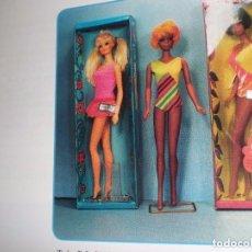 Barbie y Ken: GAFAS Y BODY ORIGINALES DE LA BARBIE P.J DEL AÑO 1970. Lote 98827159