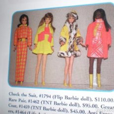 Barbie y Ken: ANTI FREZERS ORIGINAL DE BARBIE DEL AÑO 70. Lote 98828611