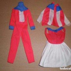 Barbie y Ken: LOTE DE LA BARBIE SKIER GOLD MEDAL Y SKATER DEL AÑO 75. Lote 98830815