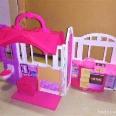 Barbie y Ken: CASA TOUR VACACIONES MATTEL BARBIE MALETÍN CREO QUE DEL 2004. Lote 131068136