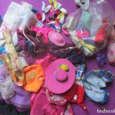 Barbie y Ken: GRAN LOTE DE VESTIDOS Y ACCESORIOS DE BARBIE, VESTIDOS, ZAPATOS.. VER FOTOS ADICIONALES. Lote 100724983