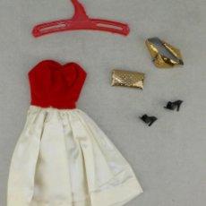 Barbie y Ken: BARBIE #0977 1958 SET SILKEN FLAME OUTFIT ALL ORIGINAL COMPLETE. Lote 102970447