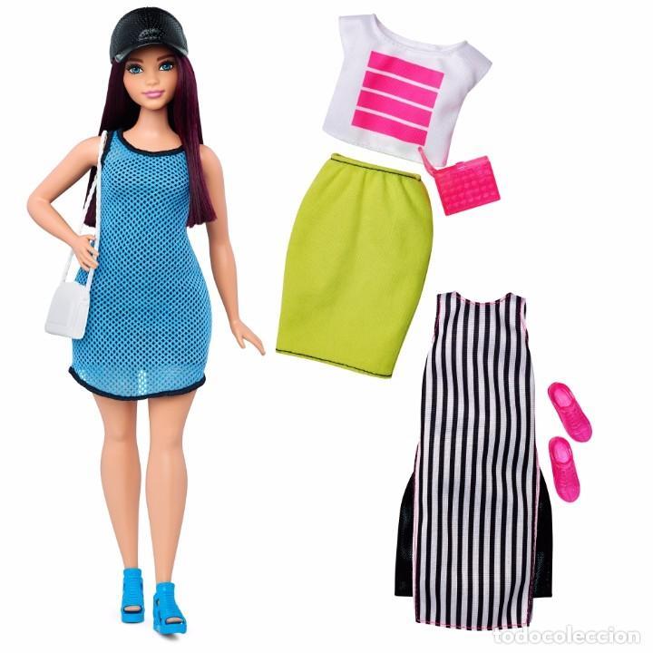 Barbie y Ken: Barbie Mattel Fashionistas Nº 38 So Sporty bolso nuevo Curvy Fashionista - Foto 3 - 102986883