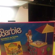 Barbie y Ken: BARBIE HELADERÍA MATTEL 1988. Lote 103450910
