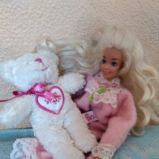 Barbie y Ken: OSO OSITO PELUCHE BARBIE 15CM IDEAL PARA DULCES SUEÑOS. Lote 103756036