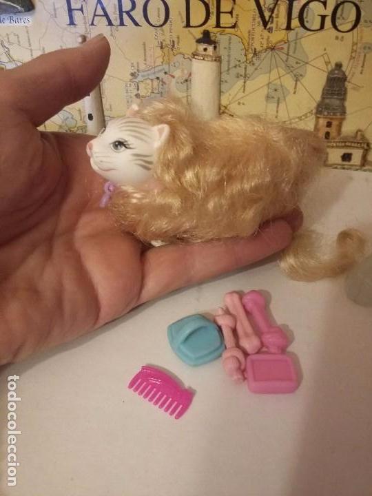 Barbie y Ken: Gatita de barbie con accesorios - Foto 4 - 104430867