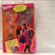 Barbie y Ken: BLISTER VESTIDO BARBIE...CON PINTURAS MAGICAS. Lote 105363839