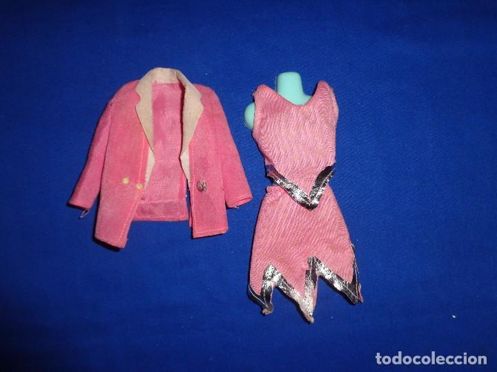 BARBIE - ANTIGUO CONJUNTO ORIGINAL BARBIE CONGOST VER FOTOS Y DESCRIPCION! SM (Juguetes - Muñeca Extranjera Moderna - Barbie y Ken - Vestidos y Accesorios)