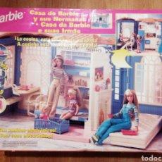 Barbie y Ken: BARBIE. MATTEL. CASA DE BARBIE Y SUS HERMANAS. REF 25661. NUEVO. EMBALAJE ORIGINAL. AÑOS 90.. Lote 111303012