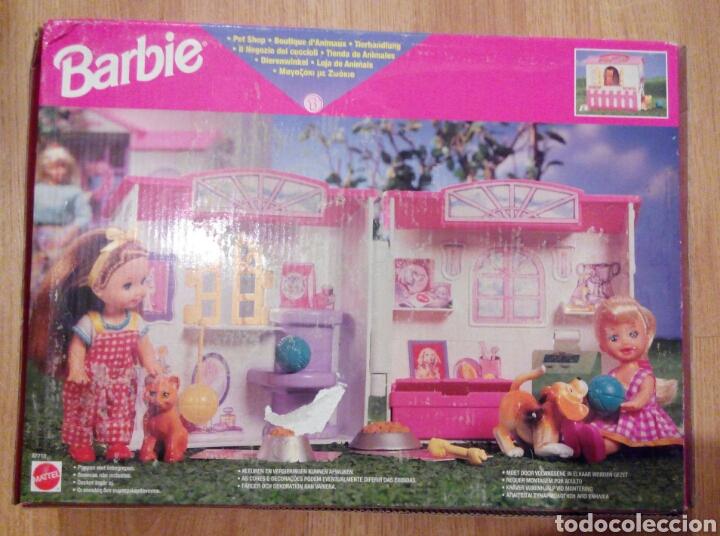 BARBIE. MATTEL. TIENDA DE ANIMALES. TIENDA DE MASCOTAS. REF 67710. NUEVA. CAJA ORIGINAL. (Juguetes - Muñeca Extranjera Moderna - Barbie y Ken - Vestidos y Accesorios)
