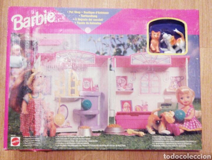Barbie y Ken: BARBIE. MATTEL. TIENDA DE ANIMALES. TIENDA DE MASCOTAS. REF 67710. NUEVA. CAJA ORIGINAL. - Foto 2 - 106625195