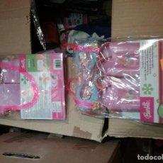 Barbie y Ken: 2 BOLSAS PLÁSTICAS CON GAFAS Y ALETAS. Lote 108009879