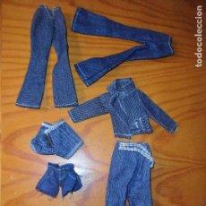 Barbie y Ken: LOTE DE VESTIDOS COMPLEMENTOS CONJUNTOS MUÑECAS TIPO BARBIE Y SIMILARES. Lote 108725987