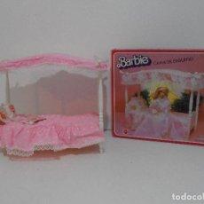 Barbie y Ken: BARBIE, CAMA DE ENSUEÑO, CAJA ORIGINAL, COMPLETA, MATTEL. Lote 115811675