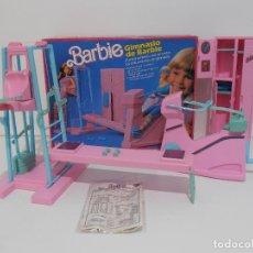 Barbie y Ken: BARBIE, GIMNASIO, CAJA ORIGINAL, COMPLETO, MATTEL. Lote 115813944