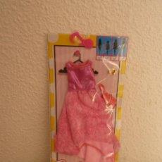 Barbie y Ken: PRECIOSO VESTIDO PARA BARBIE- COLECCION DELUXE NUEVO EN BLISTER. Lote 112513735