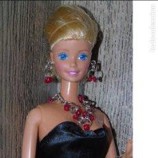 Barbie y Ken: COLLAR ROJO+ PENDIENTES + PULSERA HECHO A MANO PARA MUÑECA BARBIE, BLYTHE, LIV, MONSTER HIGH, SINDY. Lote 113035535