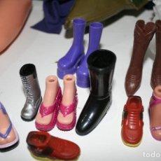 Barbie y Ken: LOTE ZAPATOS BARBIE Y BRATZ MUÑECA Y ACCESORIOS . Lote 114680911