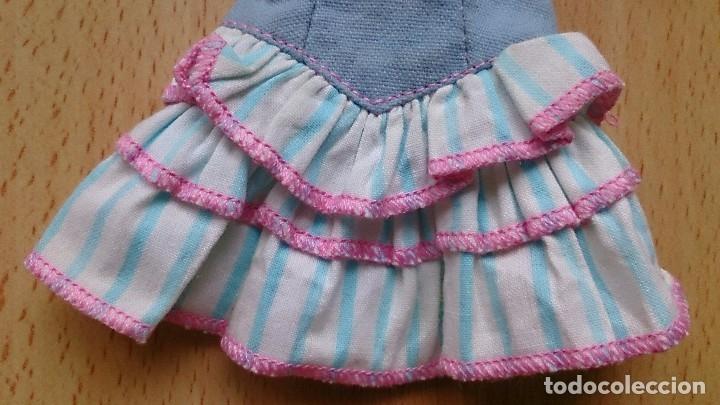 Barbie y Ken: Vestido Moda Jeans Oklahoma original Barbie años 80 - Foto 2 - 116243991