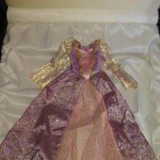 Barbie y Ken: BELLÍSIMO Y ORIGINAL VESTIDO DE PRINCESA DE BARBIE SIEMPRE GUARDADO CON APRESTO AUN.UNA MARAVILLA!. Lote 117040154