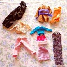 Barbie y Ken: LOTE 8 CAMISETAS PANTALONES MUÑECA BARBIE ROPA MUÑECAS. Lote 117364939
