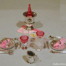 Barbie y Ken: BARBIE SERVICIO DE MESA PARA DOS. Lote 118488467